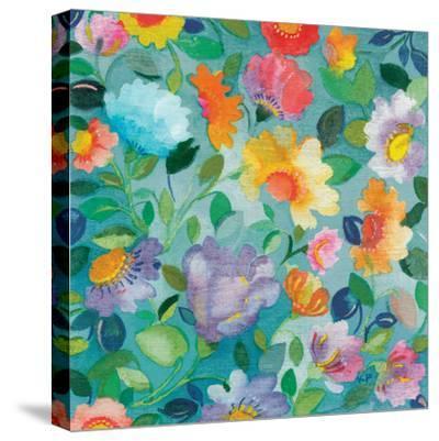Turquoise Textile by Kim Parker