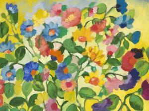 Violets by Kim Parker