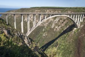 Bloukrans Bridge, Site of Highest Bungy in World, 216 M Tall by Kim Walker