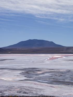 Laguna Colorada (Red Lake) Encrusted by Kim Walker