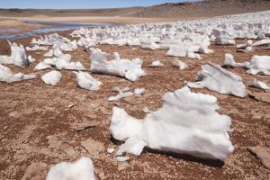 Penitence Snow Formations by Kim Walker