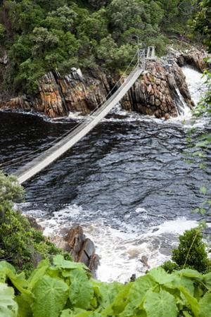 Storm's River Hiking Trail to Suspension Bridges over River Mouth by Kim Walker