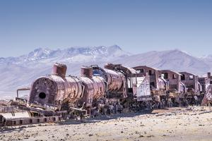Train Cemetery (Cementerio De Trenes), an Abandoned Train by Kim Walker