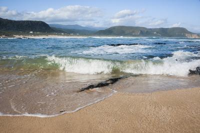 Waves Crashing Ashore at Nature Valley Beach