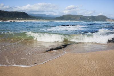 Waves Crashing Ashore at Nature Valley Beach by Kim Walker