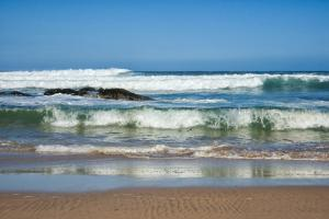 Waves Crashing Ashore from Indian Ocean by Kim Walker