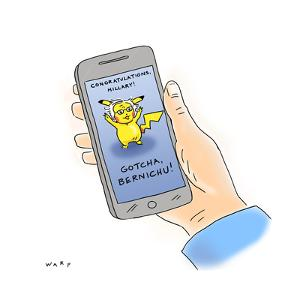Cartoon by Kim Warp