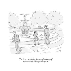 New Yorker Cartoon by Kim Warp