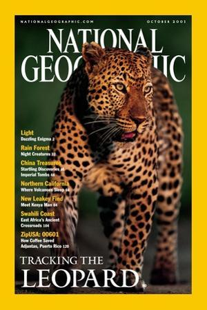 Cover of the October, 2001 National Geographic Magazine