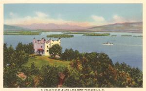 Kimball's Castle, Lake Winnipesaukee, New Hampshire