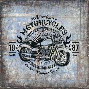 American Motorcycle 1 by Kimberly Allen
