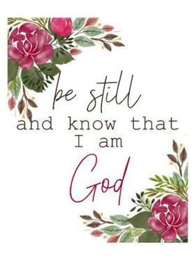 Be Still and Know by Kimberly Allen