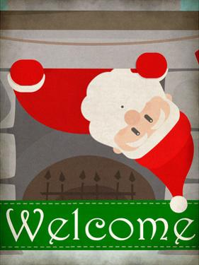 Chimney Santa by Kimberly Allen