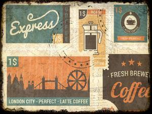 Coffee Stamps 1 by Kimberly Allen