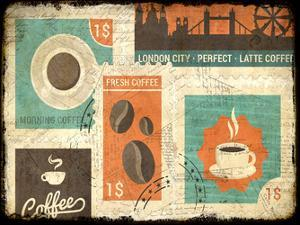 Coffee Stamps 2 by Kimberly Allen
