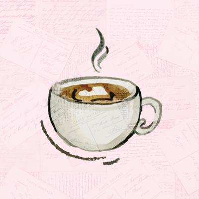 Coffee Time 3 by Kimberly Allen