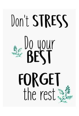 Dont Stress by Kimberly Allen
