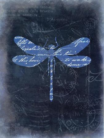 Dragonfly Blue 1 by Kimberly Allen