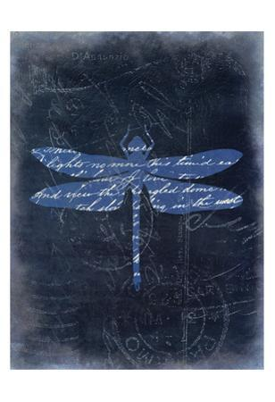 Dragonfly Blue 3 by Kimberly Allen