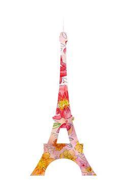 Eiffel Flowers by Kimberly Allen