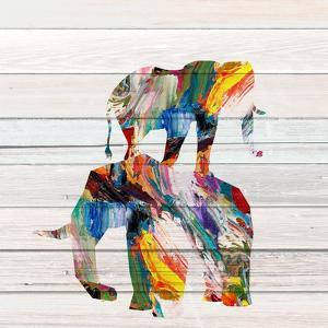 Elephant Duo by Kimberly Allen