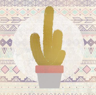 Ethnic Cactus 1 by Kimberly Allen