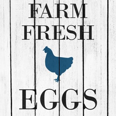 Farm Fresh Eggs by Kimberly Allen