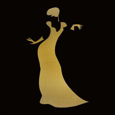 Fashion Silhouette 3 by Kimberly Allen