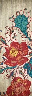 Floral Spice Panel 1 by Kimberly Allen