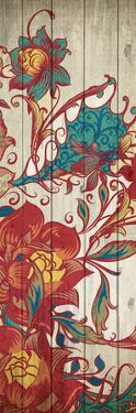 Floral Spice Panel 3 by Kimberly Allen