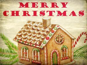 Gingerbread House Christmas by Kimberly Allen