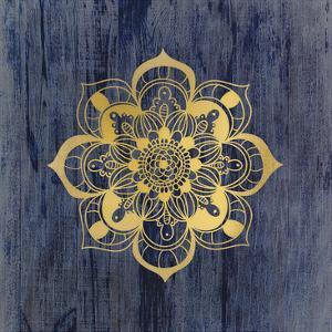 Golden Mandala 3 by Kimberly Allen