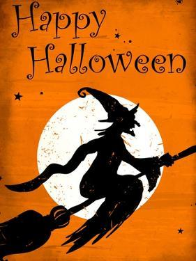 Happy Halloween Witch by Kimberly Allen
