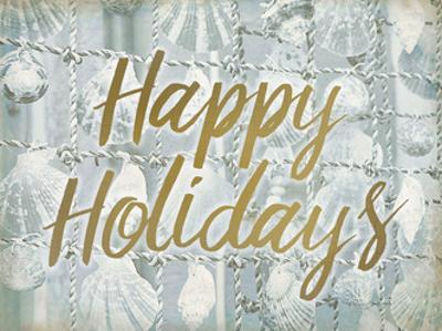 Happy Holidays Shells by Kimberly Allen