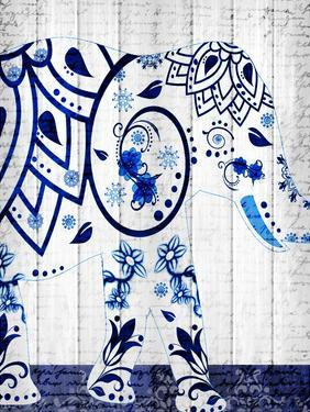 Indigo Elephant 1 by Kimberly Allen