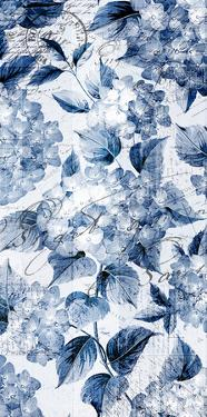 Indigo Hydrangea A by Kimberly Allen