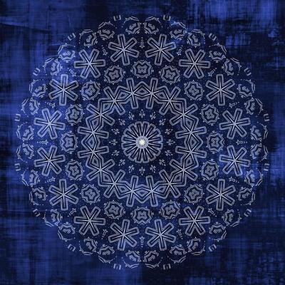 Indigo Mandala 1