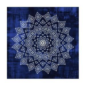 Indigo Mandala 2 by Kimberly Allen
