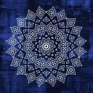 Indigo Mandala 2 by Kimberly Allen