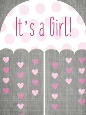 Its a Girl Umbrella by Kimberly Allen