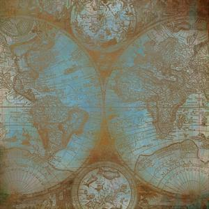 Map of the World by Kimberly Allen