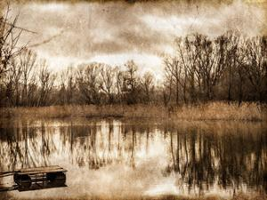 On the River 1 by Kimberly Allen