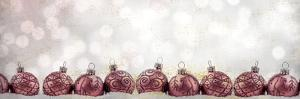 Ornaments in a Row by Kimberly Allen