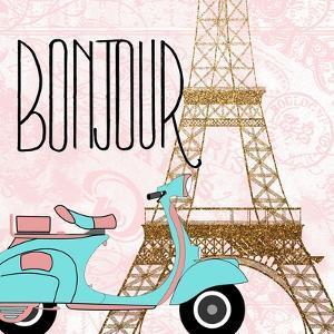 Paris Bonjour 2 by Kimberly Allen
