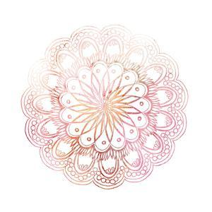 Pink Mandala 1 by Kimberly Allen