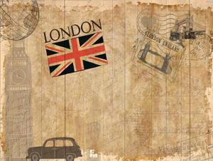 Post Card London by Kimberly Allen