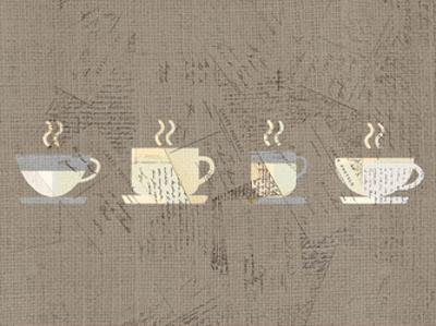 Postcard Coffee 2 by Kimberly Allen