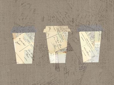 Postcard Coffee 4 by Kimberly Allen