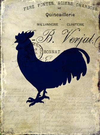 Rooster Silhouette 2 by Kimberly Allen