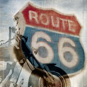 Route 66 Riding by Kimberly Allen